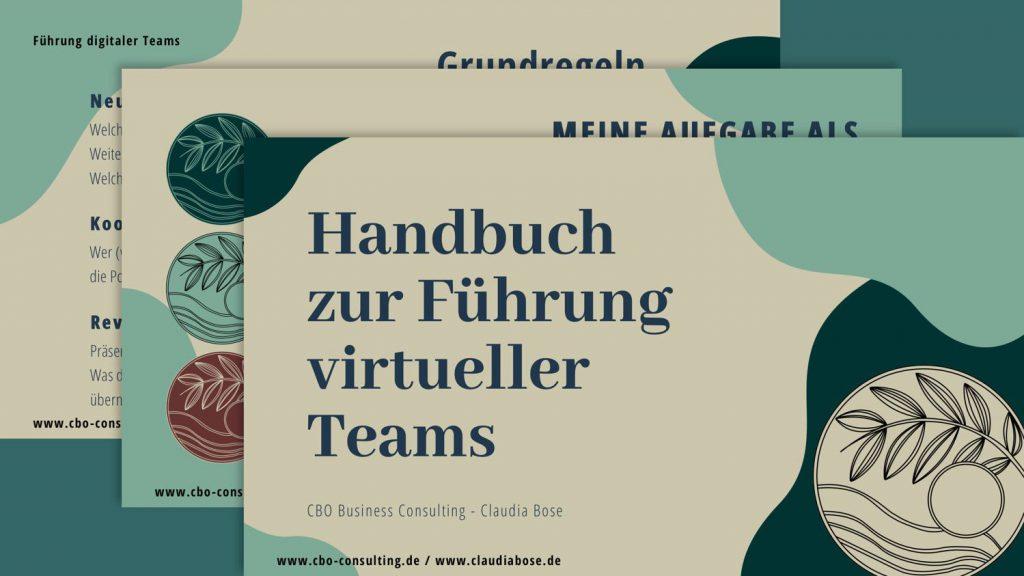 Handbuch zur Führung virtueller Teams Vorschau